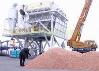 Wood Pellet Material Handling Eco Hopper By Truck Loading In Port Discharging